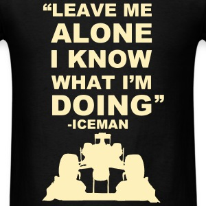 Kimi Räikkönen Leave Me Alone T-Shirt - Men's T-Shirt