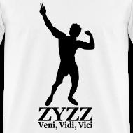Design ~ Zyzz Veni, Vidi, Vici Silhouette T-Shirt