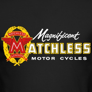retro matchless - Men's Long Sleeve T-Shirt by Next Level