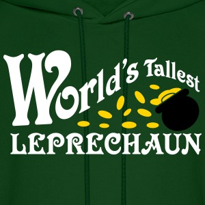 World's Tallest Leprechaun Shirt St. Patrick's Day Hoodies - Men's Hoodie