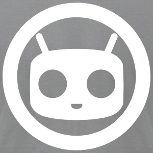 CyanogenMOD CircleBOT T-Shirts - Men's T-Shirt by American Apparel