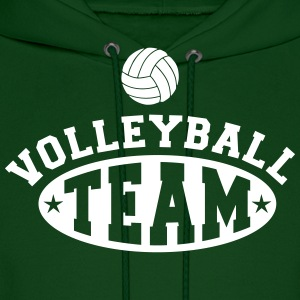 Volleyball team Hoodies - Men's Hoodie