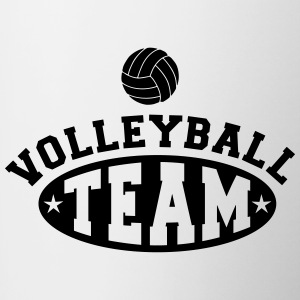 Volleyball team Accessories - Contrast Coffee Mug