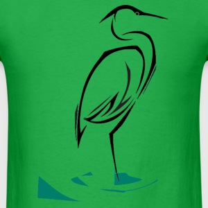 Heron T-Shirts - Men's T-Shirt