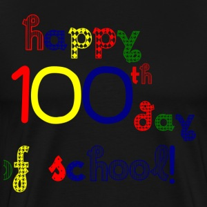 Happy 100th Day T-Shirts - Men's Premium T-Shirt