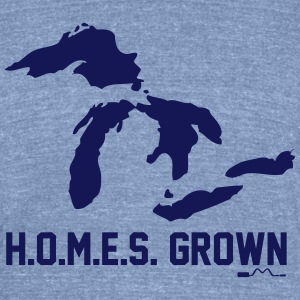 H.O.M.E.S. Grown T-Shirts - Unisex Tri-Blend T-Shirt by American Apparel