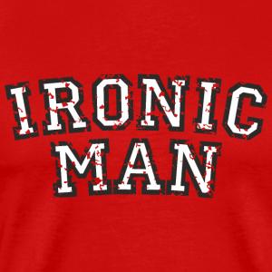 IRONIC MAN White (Used Look)