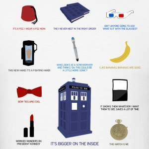Doctor Who Items - Men's T-Shirt