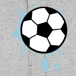 Soccer Ball Splash 3c Hoodies - Women's Hoodie