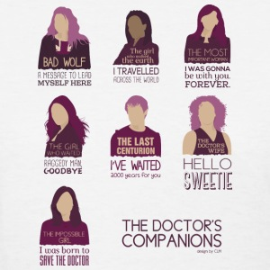 Doctor Who Companions - Women's T-Shirt