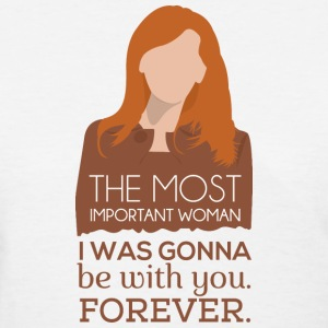 Donna Noble The Most Important Woman - Doctor Who - Women's T-Shirt
