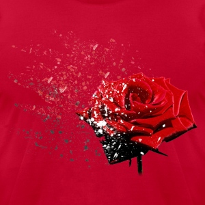 Rose T-Shirts - Men's T-Shirt by American Apparel