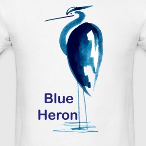 Blue Heron - Men's T-Shirt