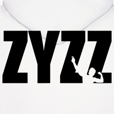 Zyzz text Hoodies