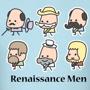 Cartoon Renaissance Men T-Shirts - Men's T-Shirt