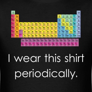 I Wear This Shirt Periodically - Men's T-Shirt
