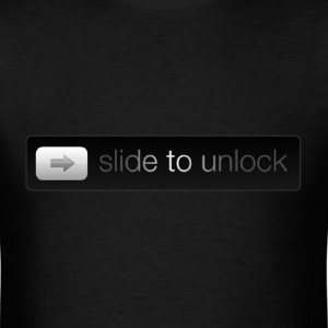 Slide to Unlock - Men's T-Shirt