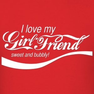 Girlfriend Cola - Men's T-Shirt