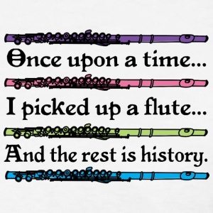 Flute Music Cute Quote Women's T-Shirts - Women's T-Shirt