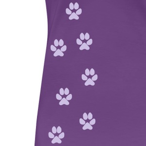 Paw Prints  (KJ Product) - Women's Premium T-Shirt