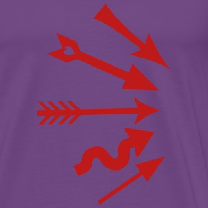 Arrows Heart - Men's Premium T-Shirt