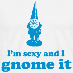 I'm sexy and I gnome it T-Shirts - Men's Premium T-Shirt