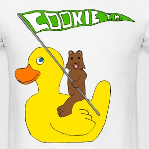 The Rubber Ducky and the Bear - Men's T-Shirt