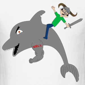 The Skyrimer and SchwarzeDolphin - Men's T-Shirt