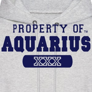 PROPERTY OF AQUARIUS Hoodies - Men's Hoodie