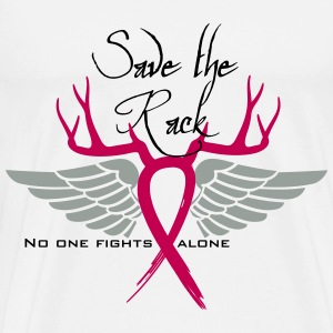 Breast Cancer Save the rack T-Shirts - Men's Premium T-Shirt