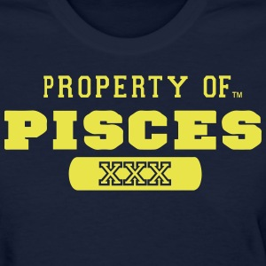 PROPERTY OF PISCES - Women's T-Shirt