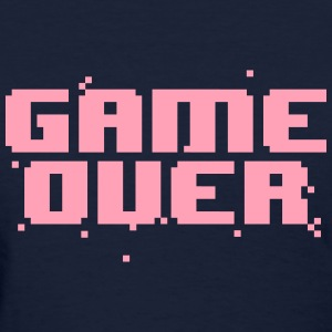 Game Over Pixel Text Women's T-Shirts - Women's T-Shirt