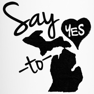 Say Yes To Michigan Bottles & Mugs - Travel Mug