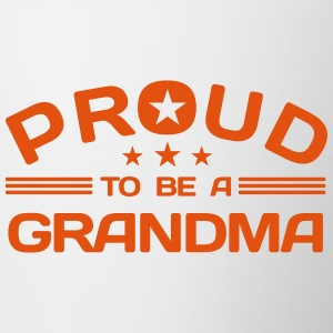 Proud to be a Grandma Accessories - Contrast Coffee Mug