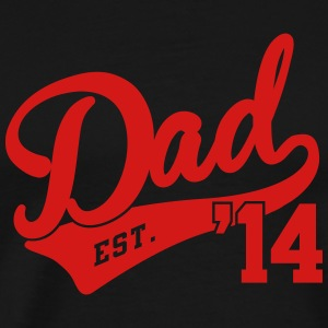 Dad Est. 2014 T-Shirts - Men's Premium T-Shirt