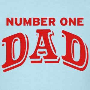 Number one Dad T-Shirts - Men's T-Shirt