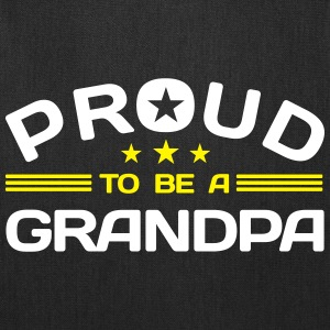 Proud to be a Grandpa Bags & backpacks - Tote Bag