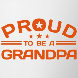 Proud to be a Grandpa Accessories - Contrast Coffee Mug