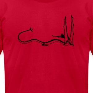 Smaug the Stupendous T-Shirts - Men's T-Shirt by American Apparel
