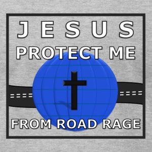 Road Rage - Male - Men's T-Shirt by American Apparel