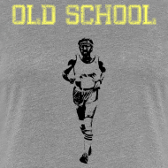 Design ~ WOMENS RUNNING T SHIRT - OLD SCHOOL