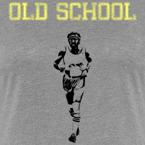 OLD SCHOOL RUNNER - Women's Premium T-Shirt