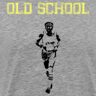 Design ~ MENS RUNNING T SHIRT - OLD SCHOOL