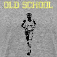 Design ~ MENS RUNNING T SHIRT - OLD SCHOOL