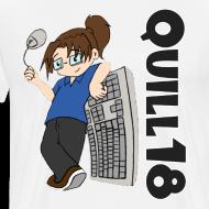 Design ~ Old School Quill18 (Mens T)