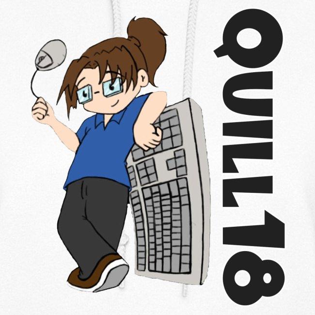 Old School Quill18 (Ladies Hoodie)