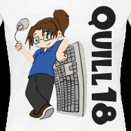 Design ~ Old School Quill18 (Ladies T)