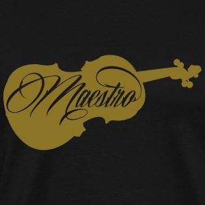 Maestro - violin - Men's Premium T-Shirt