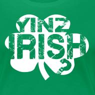 Design ~ Yinz Irish? Cutout - Women's T-shirt