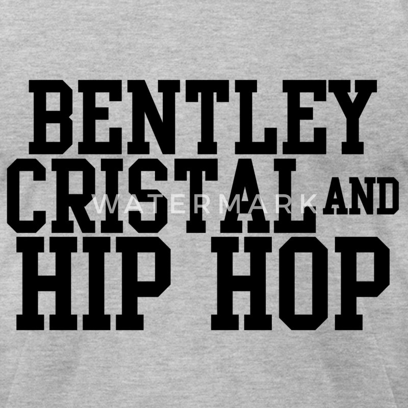 Bentley cristal & hip hop T-Shirts - Men's T-Shirt by American Apparel